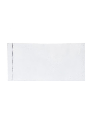48x23 Clear PVC perforated shrink band - pack of 250 fits 1-2 oz bottles