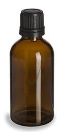 100 ml AMBER Euro Dropper Bottles