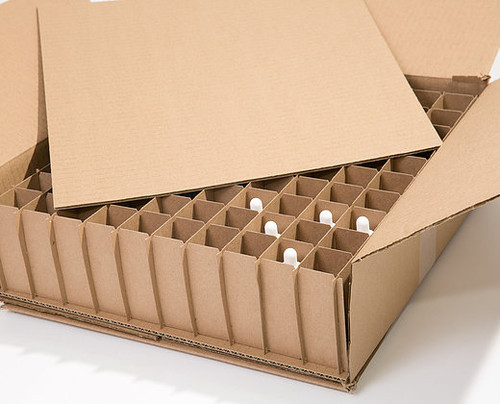 Corrugated Box With 100 Dividers Fits 100 1 Oz Boston