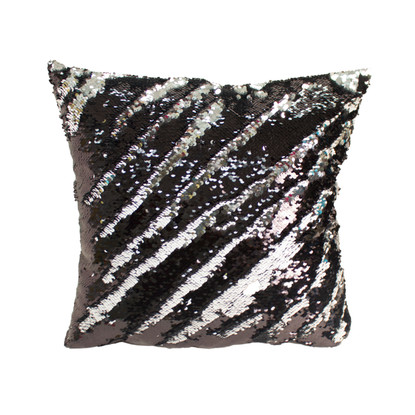Decorative Sequin Throw Pillow 17x17 Inch Comfortable