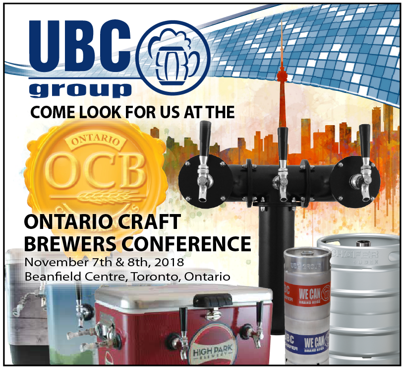 UBC Group - Ontario craft brewers conference