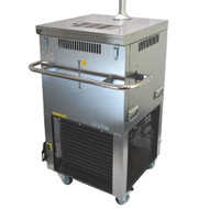 Flash cooler, Tayfun V-200EX2, 4 product lines, manual thermostat