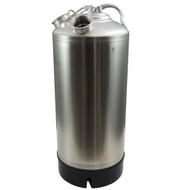 4.8 Gallon Stainless Steel Cleaning Can with two heads