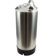 4.8 Gallon Stainless Steel Cleaning Can with four heads