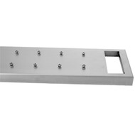 Cleaning accessory, S/S Mounting Board with handle