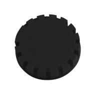 Tamper Evident Keg Cap, Type D Keg Cap, no logo, BLACK