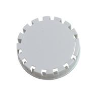 Tamper Evident Keg Cap, Type D Keg Cap, no logo, WHITE