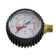 Regulator Part, 3000lbs Regulator gauge, Lefthand thread
