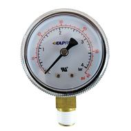 Regulator Part, 60lbs Regulator gauge