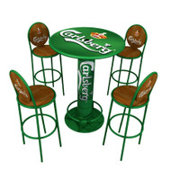 Bistro Table with Chairs, Carlsberg