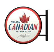 Lighted Pub Sign Molson Canadian