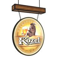 Lighted Pub Sign Kozel