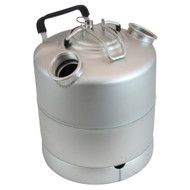 2.4 Gallon Stainless Steel Cleaning Can with two heads, Economy