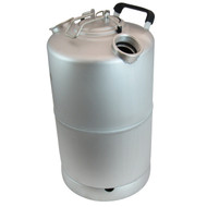 4 Gallon Stainless Steel Cleaning Can with two heads, Economy