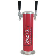 "American Style Tower 3"" CYLINDER 2, Branded 3"