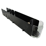Merchandising System Rack VISI FAST, 20 oz, 8 rows wide