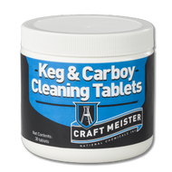Beer line Cleaner, 30 ct Keg and Carboy cleaning tablets