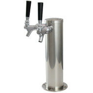 """American Style Tower 3"""" CYLINDER 2, Chrome, AIR"""