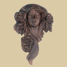 Flower goddess garden plaque