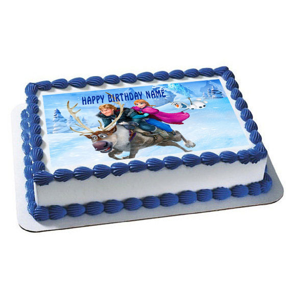 anniversary cake images frozen 6 edible birthday cake topper 1318