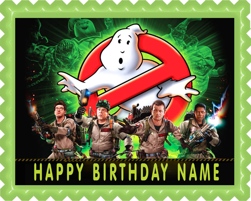 Ghostbusters Edible Cake Images