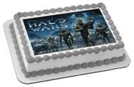 HALO WARS 1 Edible Birthday Cake Topper OR Cupcake Topper, Decor