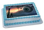 Terraria 5 Edible Birthday Cake Topper OR Cupcake Topper, Decor