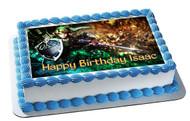 The Legend of Zelda 2 Edible Birthday Cake Topper OR Cupcake Topper, Decor