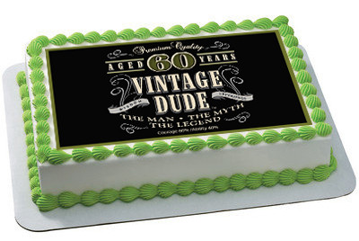 Th Birthday Cake Pictures Rectangular