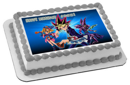 Yu Gi Oh 2 Edible Birthday Cake Topper