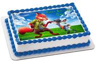 Zootopia 2 Edible Birthday Cake Topper OR Cupcake Topper, Decor