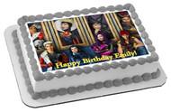 Descendants Edible Birthday Cake Topper OR Cupcake Topper, Decor