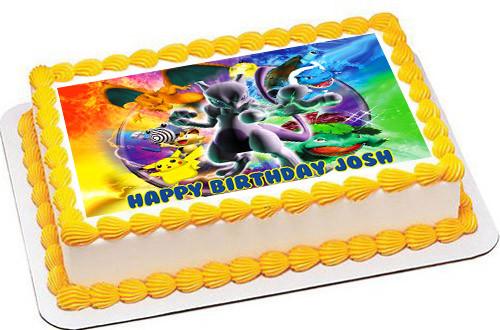 Pokemon Edible Cake Toppers