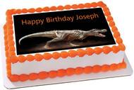 Dinosaur Edible Birthday Cake Topper OR Cupcake Topper, Decor