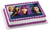 Descendants II Edible Birthday Cake Topper OR Cupcake Topper, Decor