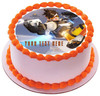 "Edible Cake Topper - 10"" round Edible Cake Topper - 7.5"" round Edible Cake Topper - 6"" round"