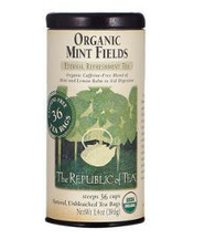 Organic USDA Mint Fields Tea Bags