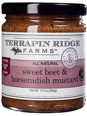 Sweet Beet And Horseradish Mustard
