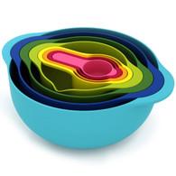Joseph Joseph 8pc Multi Colour Nesting Food Prep Set