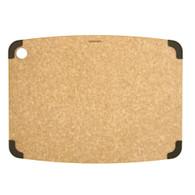 Nonslip Cutting Board with Brown Corners 18x13
