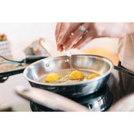 Stainless Steel 8.5 Inch Fry Pan