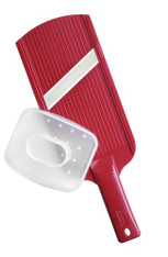 Kyocera Adjustable Ceramic Slicer in Red