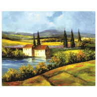 Magic Slice Cutting Board - Tuscan Scene