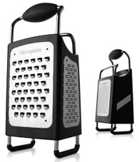 Microplane Specialty Black 4 Sided Box Grater
