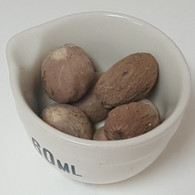 Nutmeg. Whole