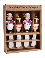 Out of the Woods Chef Pig and Honey 4pc Spreader Set