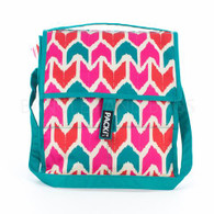 Packit Lunch Bag with Pink and Aqua Arrow Design