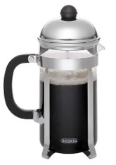 BonJour Polished Stainless Steel Monet French Press, 3-Cup