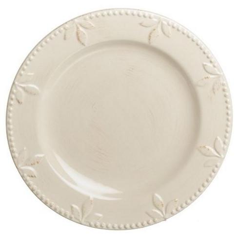 Sorrento Ivory dinner plate