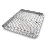 USA Half Sheet Nonstick Cooling Rack Set